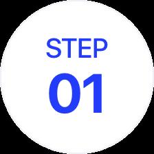 STEP 01